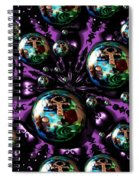 Abstract 71216.5 Spiral Notebook