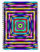 Abstract 727 Spiral Notebook