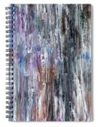 Abstract 741 Spiral Notebook