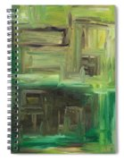 Abstract 742 Spiral Notebook