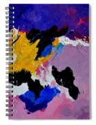 Abstract 760170 Spiral Notebook