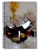 Abstract 7751501 Spiral Notebook