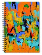 Abstract 7761701 Spiral Notebook