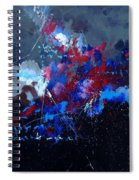 Abstract 77902171 Spiral Notebook