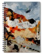 Abstract 780708 Spiral Notebook