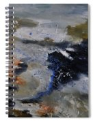 Abstract 780808 Spiral Notebook