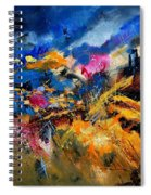 Abstract 7808082 Spiral Notebook