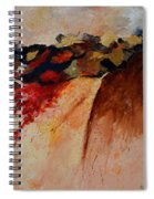 Abstract 7861 Spiral Notebook
