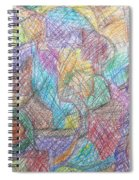Abstract 801 Spiral Notebook
