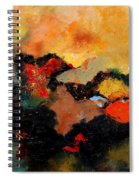 Abstract 8080 Spiral Notebook