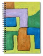 Abstract 809 Spiral Notebook