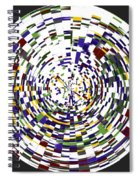 Abstract 813 Spiral Notebook