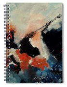 Abstract 88012090 Spiral Notebook