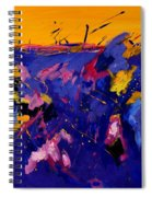 Abstract 880160 Spiral Notebook