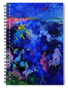 Abstract 8801602 Spiral Notebook
