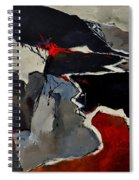 Abstract 881110 Spiral Notebook
