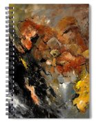 Abstract 8811113 Spiral Notebook