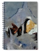 Abstract 88112012 Spiral Notebook
