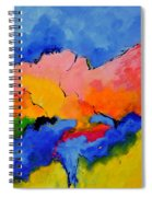 Abstract 88112060 Spiral Notebook