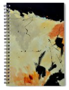 Abstract 88112070 Spiral Notebook