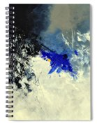 Abstract 8811301 Spiral Notebook