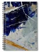 Abstract 8811503 Spiral Notebook