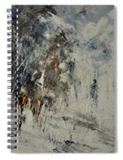 Abstract 8821207 Spiral Notebook
