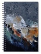 Abstract 8821901 Spiral Notebook