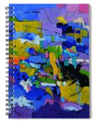 Abstract 8861012 Spiral Notebook