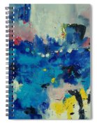Abstract 889011 Spiral Notebook