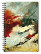 Abstract 9 Spiral Notebook