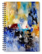 Abstract 900003 Spiral Notebook
