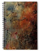 Abstract 900192 Spiral Notebook