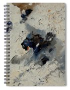 Abstract 901141 Spiral Notebook