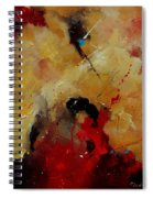 Abstract 901156 Spiral Notebook