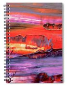 Abstract 9032 Spiral Notebook