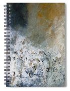 Abstract 904023 Spiral Notebook