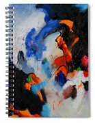 Abstract 905060 Spiral Notebook