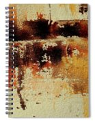 Abstract  90801245 Spiral Notebook