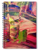 Abstract 9096 Spiral Notebook