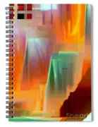 Abstract 9364 Spiral Notebook