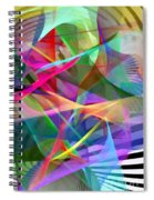 Abstract 9488 Spiral Notebook