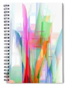 Abstract 9501-001 Spiral Notebook