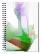 Abstract 9506-001 Spiral Notebook