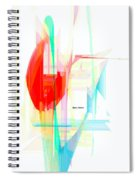 Abstract 9507 Spiral Notebook