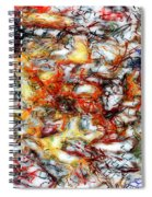 Abstract 9591 Spiral Notebook
