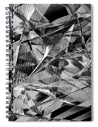 Abstract 9637 Spiral Notebook