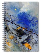 Abstract 969090 Spiral Notebook