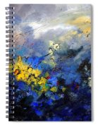 Abstract 970208 Spiral Notebook