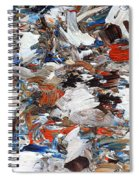 Abstract 971 Spiral Notebook